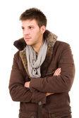 Zamyšlený mladý muž — Stock fotografie