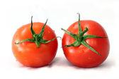 Tomatoes isolated on white background — Stock Photo