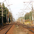 Railway track lines — Stock Photo #4258635