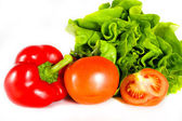 Isolated vegetables — Stock Photo