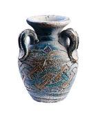 Antique vase isolated — Stock Photo