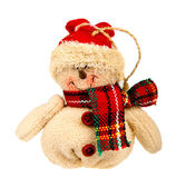 Snowman toy — Stock Photo