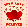 Royalty-Free Stock Photo: With love forever