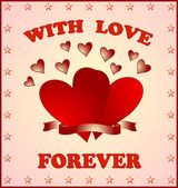 With love forever — Stock Photo