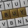 Button on the keyboard buy - Stock Photo