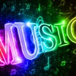 Colorful word music — Stock Photo #5221819