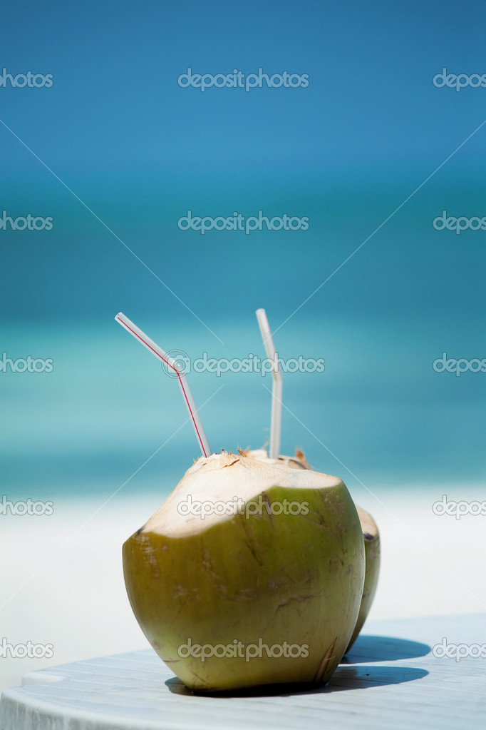 Coconut Water Drink — Stock Photo #4106701
