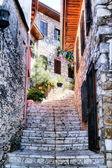Turkish small streets — Stock Photo