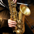 Stock Photo: Saxophone Player