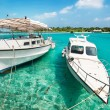 Boat in maldives — Stock Photo #4378499