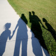 Family of shadows — Stock Photo #4433540