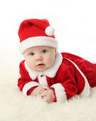 Santa baby — Stockfoto