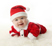 Happy Santa Baby — Stock Photo