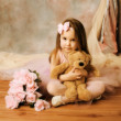 Little ballerina beauty - Stockfoto