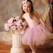 Stock Photo: Little ballerinbeauty