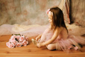 Piccola bellezza ballerina — Foto Stock