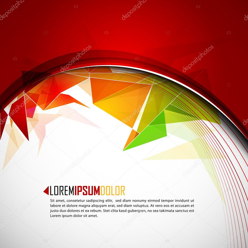 Intensive Colors - Abstract EPS10 Vector Background  Stock Vector #4126890