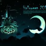 Halloween Invitation | Poster — Stock Vector