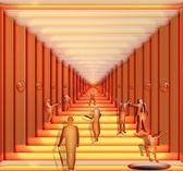 The Hallway — Stock Photo
