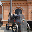 Ancient steam engine — Stock Photo