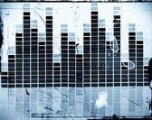 Waveform equalizer — Stock Photo