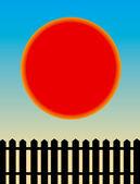 Raio de sol — Fotografia Stock