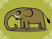 Elephant Illustration — Stockfoto