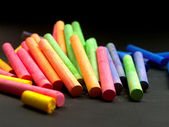 Colored chalk — Stock Photo