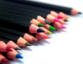 Detailed pencil isolated — Stockfoto