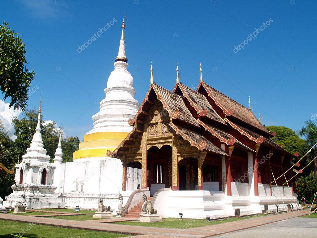 Thai architecture stock photo porjai 4182044 for Thailand architecture