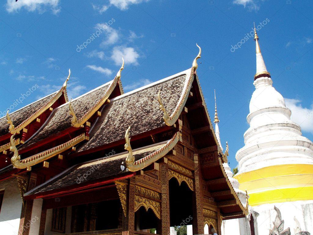 Thai architecture stock photo porjai 4182168 for Thailand architecture
