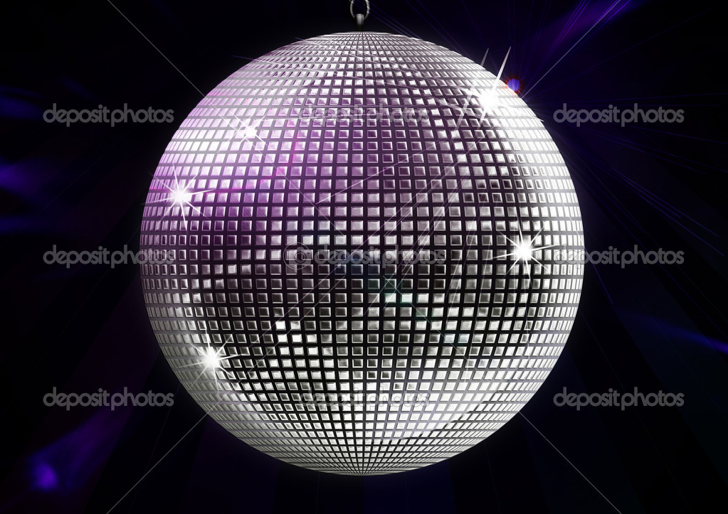 Discoball Illustration — Stock Photo #4129457