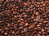 Granos de café de fondo — Foto de Stock