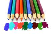 Crayons colorés — Photo