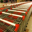 Shopping carts — Foto de stock #4251570