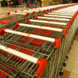 Shopping carts — Stock fotografie #4251570
