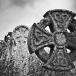 Celtic Crosses - Stock Photo