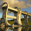 The Falkirk Wheel at Sunset — Stock Photo #4095635