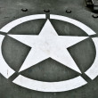 US Military Star - Stock Photo