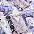 Stock Photo: UK Banknotes
