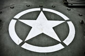 US Military Star — Stock Photo