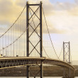 The Forth Road Bridge — Stock Photo