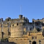 Edinburgh Castle Entrance Gate — Stock Photo #4198063