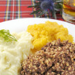 Stock Photo: Haggis Neaps and Tatties