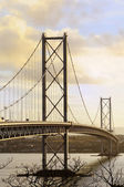 The Forth Road Bridge — Stock Photo