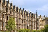 维多利亚时代的房屋爱丁堡 — 图库照片