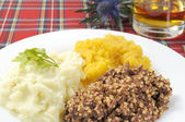 Haggis Neaps and Tatties — Stock Photo