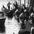 Stock Photo: Gondoliers, Venice, Italy