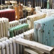 Stock Photo: Architectural Salvage Yard
