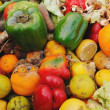 Rotten fruit and vegetables - Stock Photo